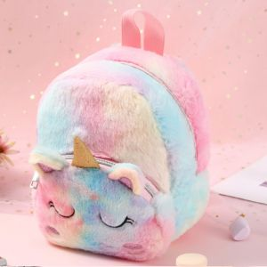 Tas Anak Perempuan Fashion Unicorn Backpack Gradasi