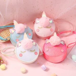 TAS FASHION ANAK UNICORN GLITTER