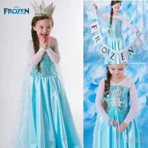 Costume princess dress B2W2 Frozen Elsa
