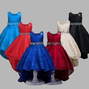 Party dress anak brukat B2W2