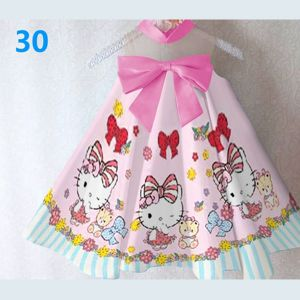 Dress Satin HY Hello Kitty Pink