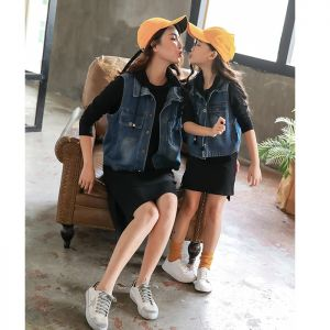 DRESS WANITA DEWASA WARNA HITAM SET ROMPI JEANS
