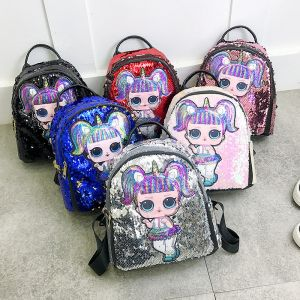 Tas sequin anak LOL Surprise aneka motif