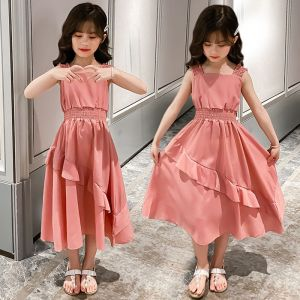Casual dress anak