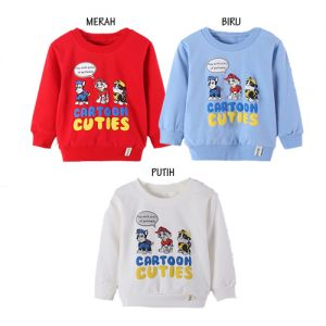 SWEATER ANAK COWOK CARTOON CUTIES