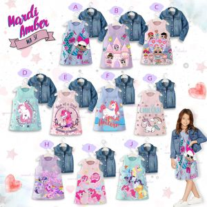 Dress Anak MA Little Pony Tosca 2-in-1 Dan Jaket