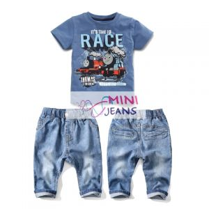 Setelan Anak Time-to-race Set Jeans Isi 6
