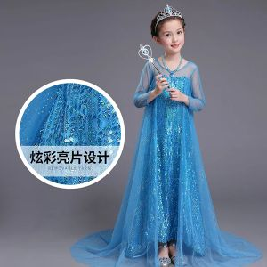 Dress Princess Elsa Sequin