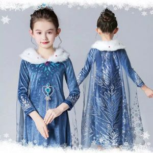 Dress Princess Elsa Winter Wonderland