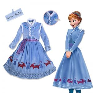 Dress Anna winter wonderland B2W2