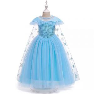 B2W2 New Frozen Dress With Cape