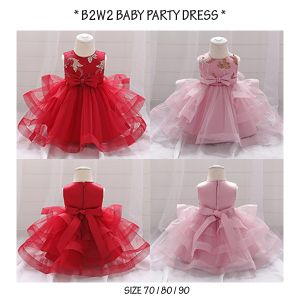 Party Dress Baby Tutu Pink