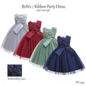 Party Dress B2W2 Flower Tulle