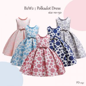 Party Dress B2W2 Pita Polkadot