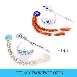 TIARA FROZEN SET 3-IN-1 ANNA DAN ELSA