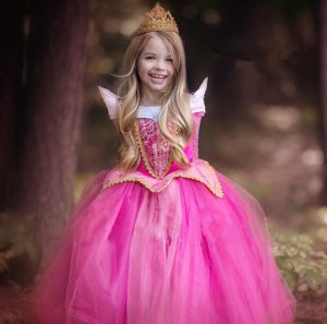 Dress princess Aurora pink