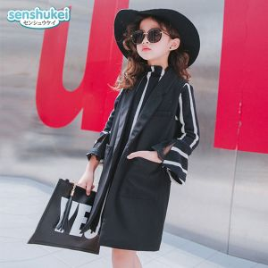Vest anak hitam set dress Senshukei