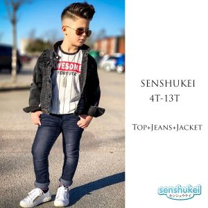 Senshukei 3-in-1 Awsome Top Set Jacket & Jeans