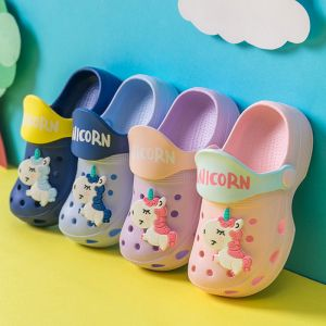 SEPATU SENDAL ANAK UNICORN IMPORT / UNICORN SHOES PINK UNGU BIRU NAVY