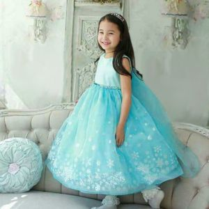 Dress Frozen Casual B2W2 tanpa lengan